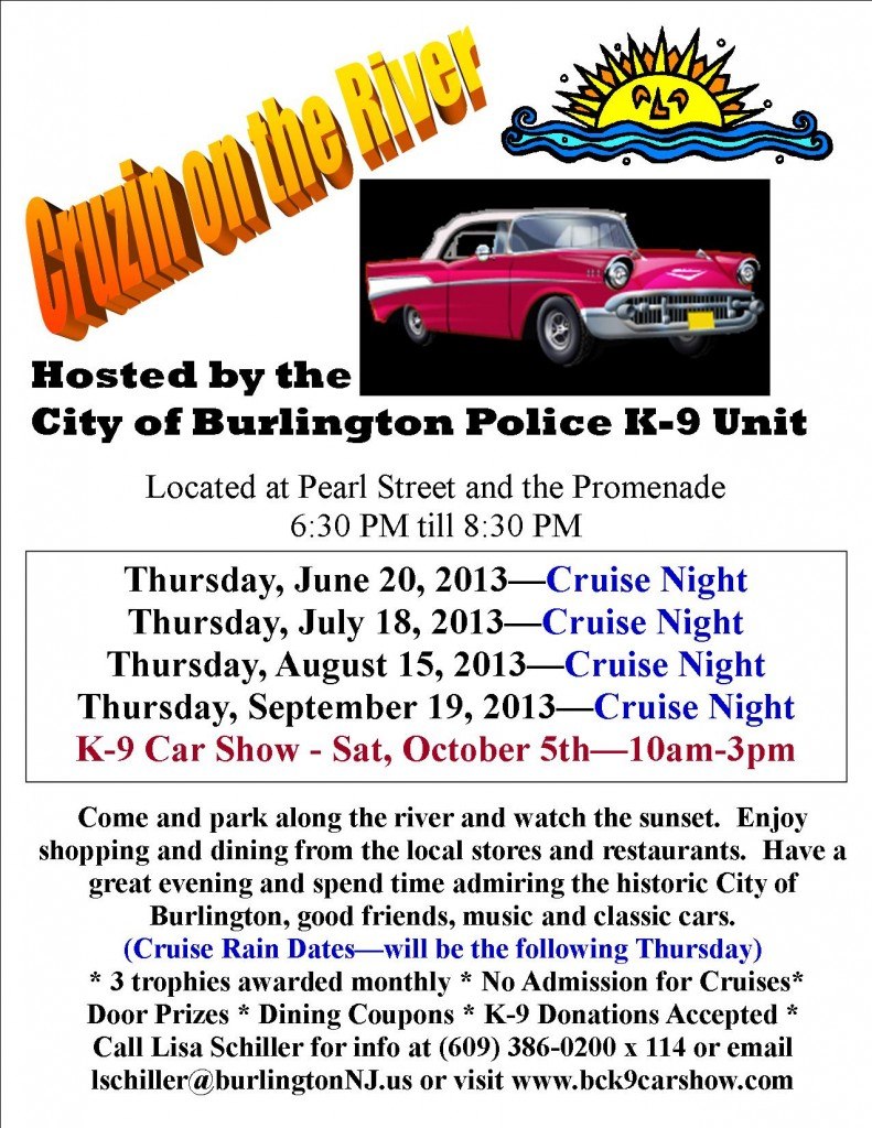 Cruise Night Flyer 2013